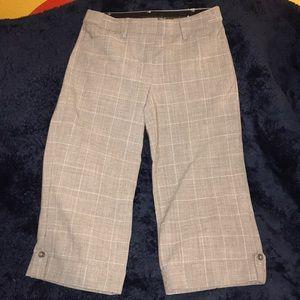 Blouse pants, 3/4 leg